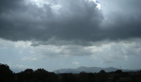 Meteo – Inizio settimana nuvoloso, in arrivo le piogge