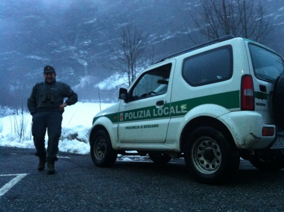 chiusura della strada provinciale a Valbondione
