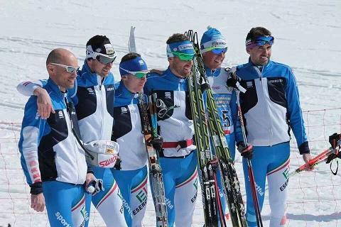FABIO PASINI CAMPIONE ITALIANO NELLA STAFFETTA 4 X 7,5 KM