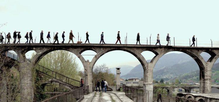 Ad Alzano comincia il sogno del recupero del Cementificio Pesenti