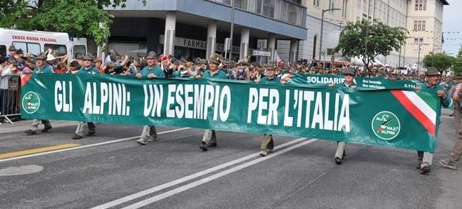 """""""ALPINI ESEMPIO PER L'ITALIA"""", BERGAMASCHI ESEMPIO PER LA LORO TERRA"""