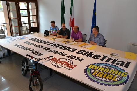 CLUSONE: PRESENTATA IN COMUNITA' MONTANA LA COPPA EUROPA DI BIKE TRIAL