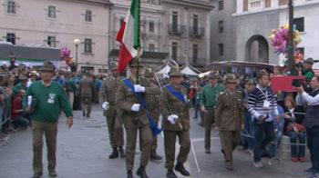 arrivo bandiera guerra