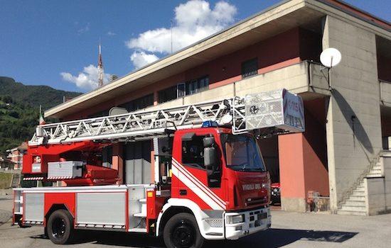Vigili del fuoco a Leffe per un 60enne morto in casa da sabato