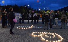 Nembro, un'onda di luce per ricordare i lutti perinatali