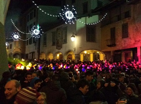 Capodanno in piazza in Val Seriana a Clusone, Castione e Selvino