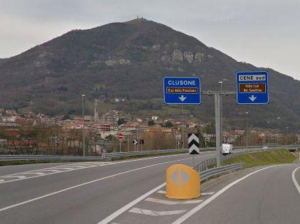 Superstrada della Val Seriana chiusa per due notti tra Cene e Gazzaniga