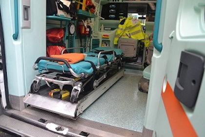 Incidente sulla Strada Provinciale a Comenduno di Albino, ferito motociclista