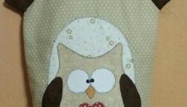 Filo creativo – Gufo porta sacchetti