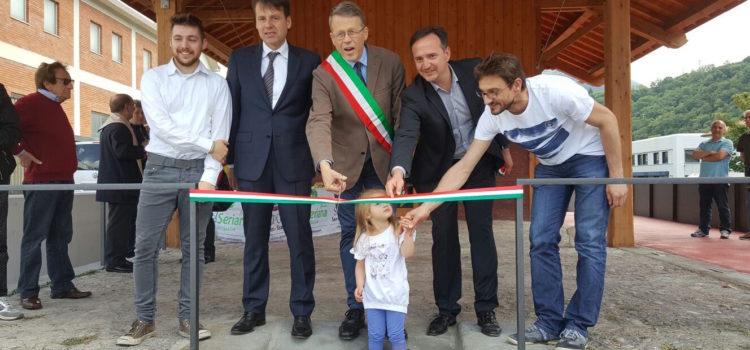 Inaugurato ieri a Vertova l'infopoint della Media Val Seriana