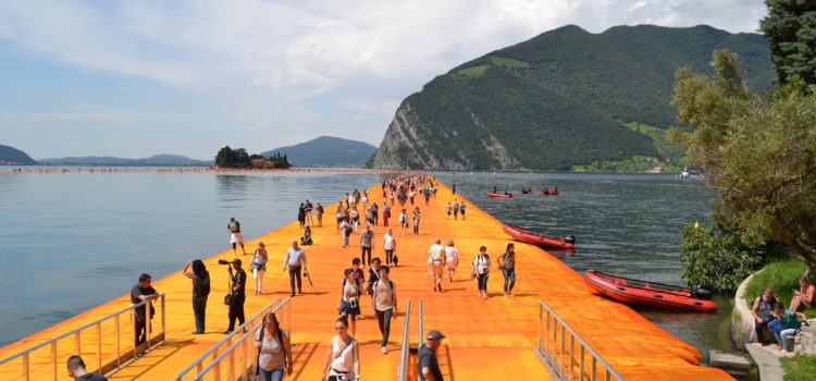 The floating piers – il video dell'apertura