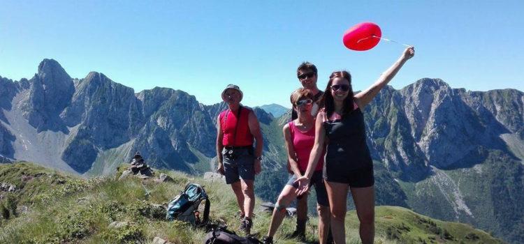 Dall'Austria alla Val di Scalve: la sorpresa del palloncino rosso