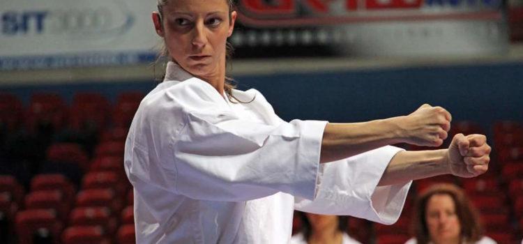 Valeria Gazzaniga, del Karate Club Clusone, Campionessa del mondo con 4 ori a Dublino
