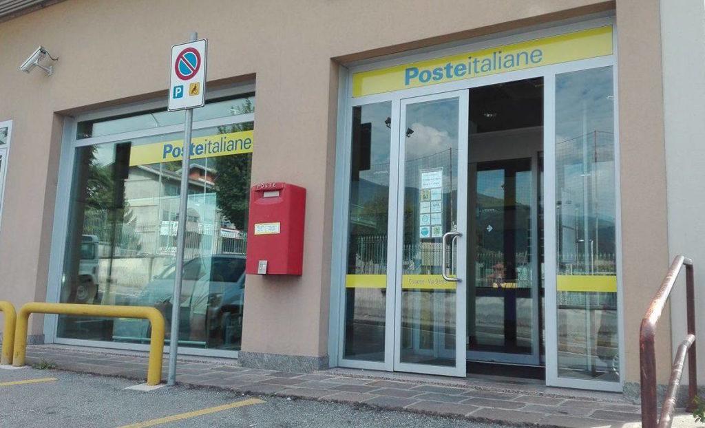 Ufficio Postale Poste Italiane : Clusone dal 1° settembre ufficio postale di nuovo aperto nel
