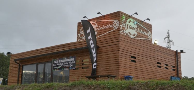 Apre ad Alzano il Barcicletta, un nuovo punto food e assistenza per i frequentatori della pista ciclabile
