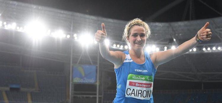 La campionessa paralimpica Martina Caironi positiva al doping