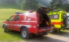 64enne disperso in Val Vertova ritrovato vivo dopo una notte nel bosco