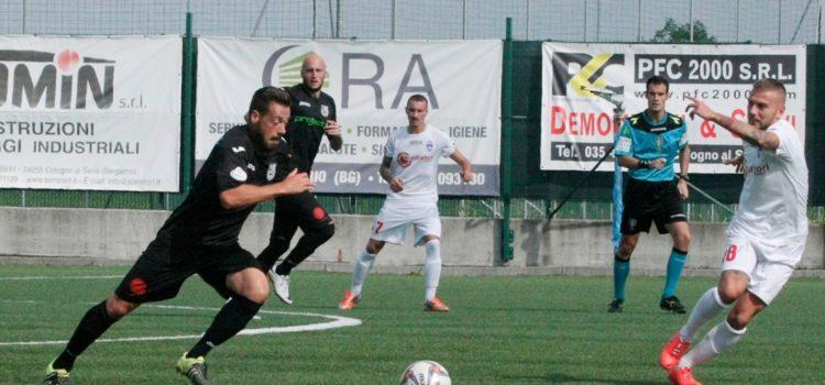Calcio: domani terzo tempo per la Virtus Bergamo contro la Pergolettese, pane salame e treccia d'oro per i tifosi