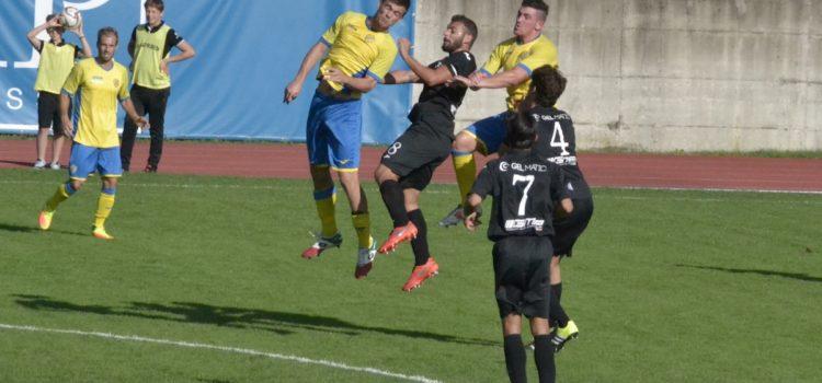 Prima sconfitta per la Virtus Bergamo, finisce 2 a 0 per la Pergolettese