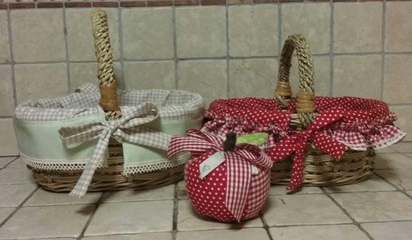Filo creativo – Come rivestire un cestino