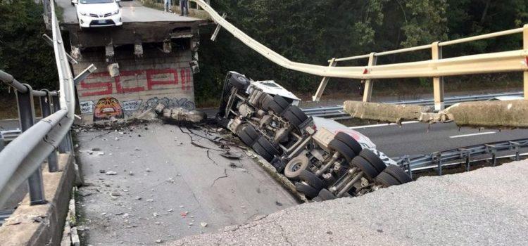 Crollo ponte ad Annone Brianza, indagati due dirigenti della provincia di Bergamo