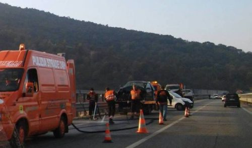 Incidente sulla superstrada a Nembro: 2 feriti e Val Seriana in tilt