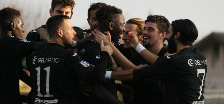 Soumare firma la vittoria della Virtus Bergamo contro la Grumellese, seriani terzi in classifica