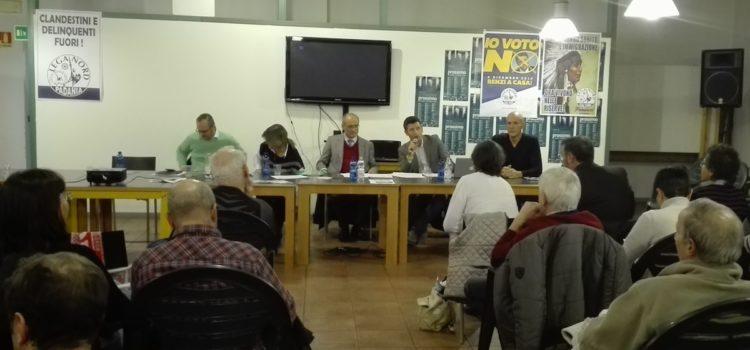 Migranti a Gandino, la Lega incontra i cittadini e chiede un consiglio comunale urgente