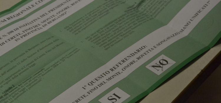 Unione Comuni Presolana, dopo il No alla fusione il Comitato chiede il cambio alla presidenza