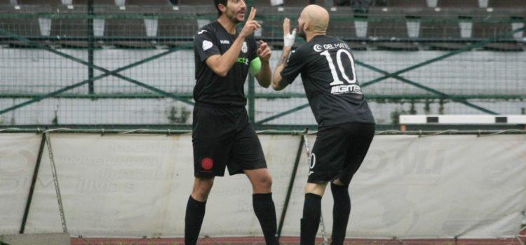 Virtus Bergamo vittoriosa contro il Darfo Boario, finisce 2 a 1 con doppietta di Amodeo