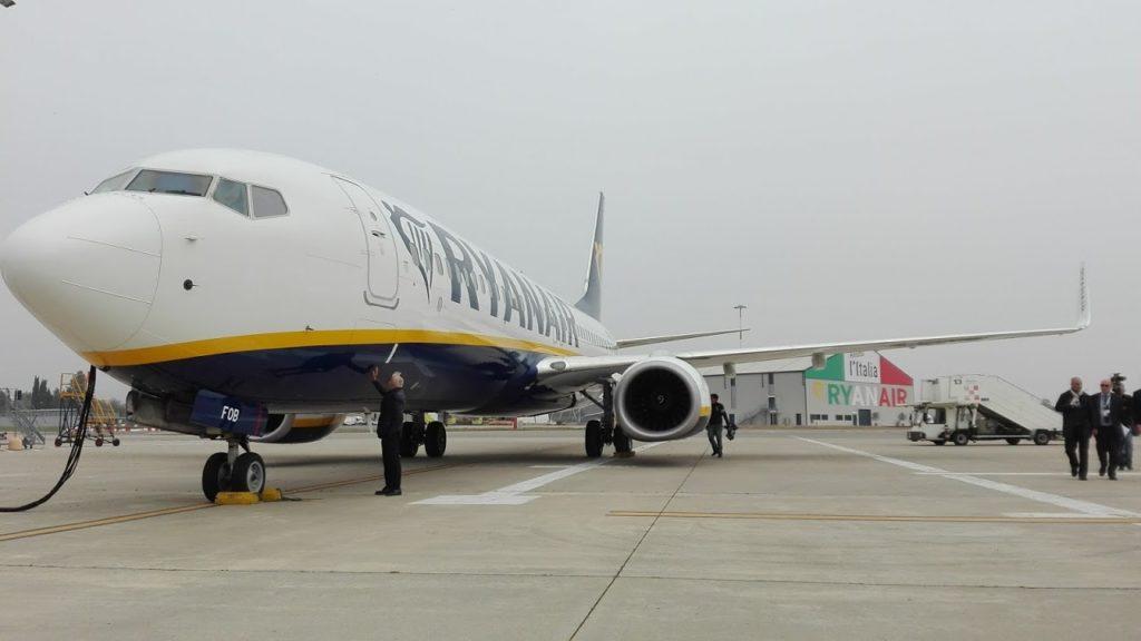 Sciopero Ryanair 25 luglio 2018