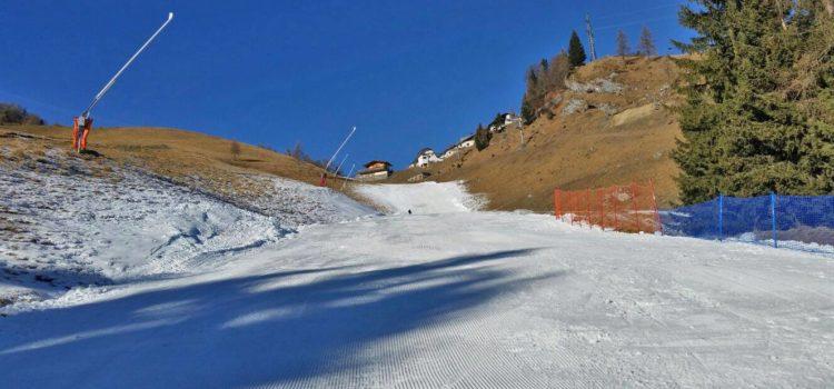 Colere, da venerdì si scia nel comprensorio della Val di Scalve