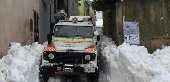 Nuova missione per la Croce Blu di Gromo: a Teramo per riportare l'elettricità