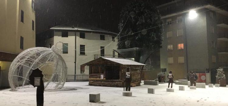 Finalmente la neve è arrivata in Val Seriana