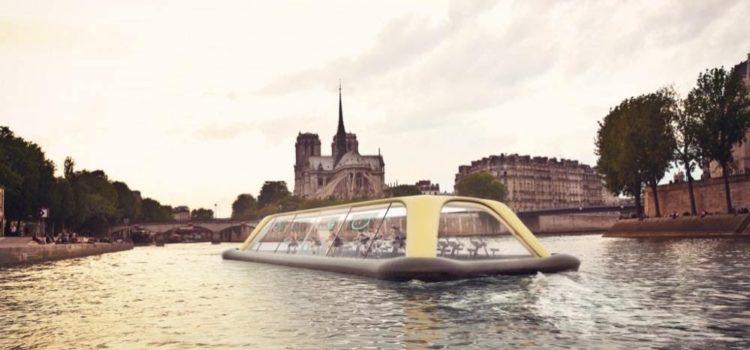 FIT by G – Novità green fitness? La palestra galleggiante sulla Senna