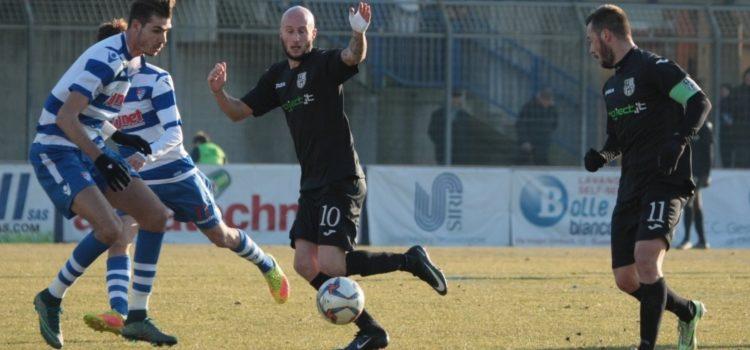Virtus Bergamo sconfitta a Busto Arsizio per 2 a 1 dalla Pro Patria
