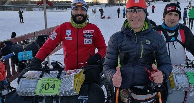 Dalla Val Seriana in Lapponia: Bonazzi al via dell'impresa tra i ghiacci