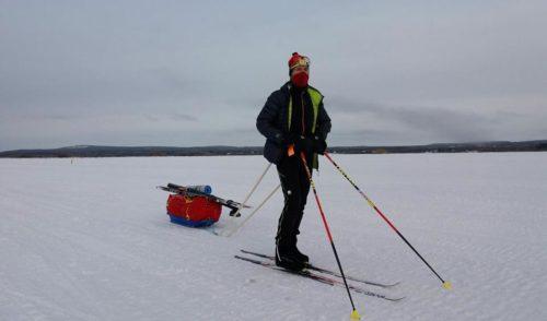 """Il gelo della Lapponia ferma Bonazzi: """"Il mio premio di consolazione? L'aurora boreale"""""""