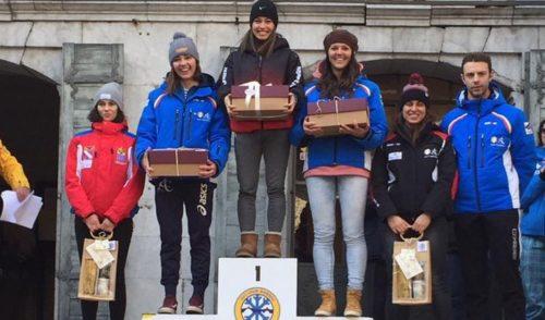 Martina Bellini e Nicola Fornoni trionfano ai campionati regionali di sci nordico agli Spiazzi di Gromo