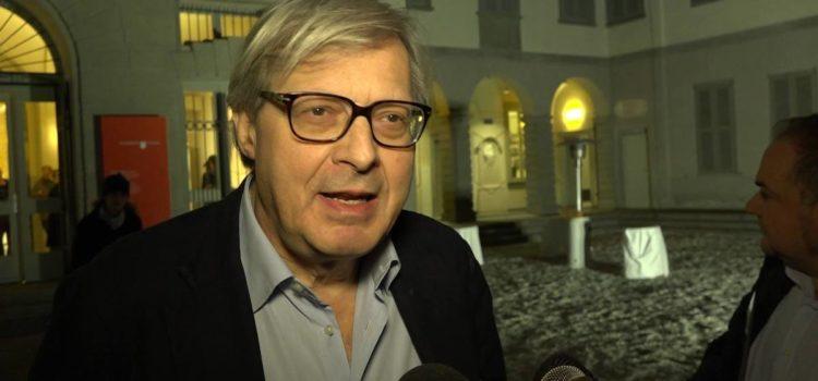 """Sgarbi a Bergamo: """"Tuteliamo il nostro passato per andare verso il futuro"""" – video"""