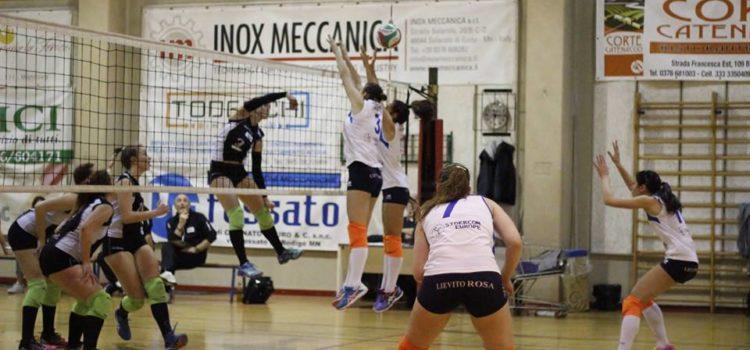 Valle Volley: ritorno da Mantova con zero punti