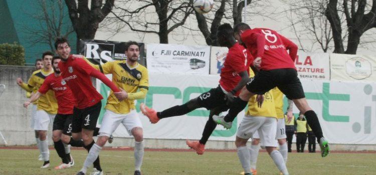 Amara sconfitta per la Virtus Bergamo ad Alzano, termina 2 a 0 per il Ciliverghe