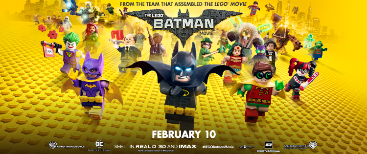 Silenzio in sala – LEGO Batman – Il film (The Lego Batman Movie)