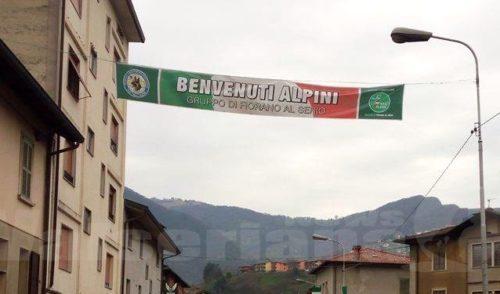 90 anni e non sentirli: a Fiorano grande festa per gli Alpini