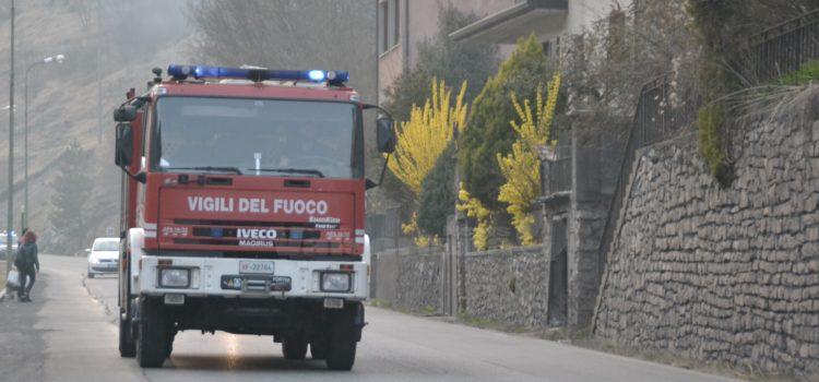 Scontro fra due auto in Val del Lujo ad Albino