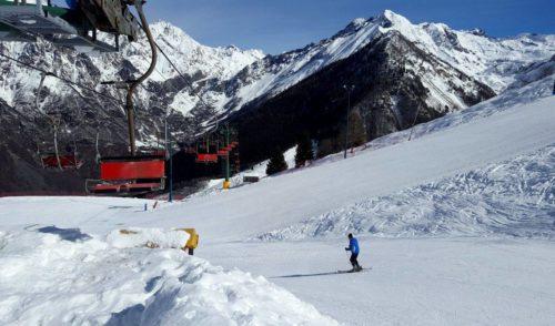 Aperti gli impianti a Lizzola, stagione sciistica al via