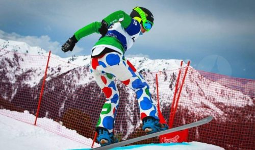 Snowboardcross, Michela Moioli terza nelle qualifiche per la finale di Coppa del Mondo