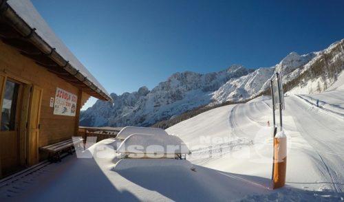 Da domenica si scia in Val Seriana e Val di Scalve