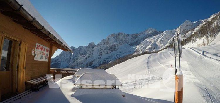 Neve ad aprile, in Val Seriana e Val di Scalve di scia ancora