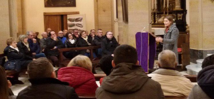 Premolo, in chiesa il cammino di conversione di Claudia Koll